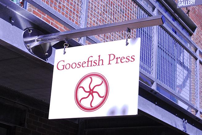Goosefish press inc an award winning letterpress shop in the flowing rock stopboris Images